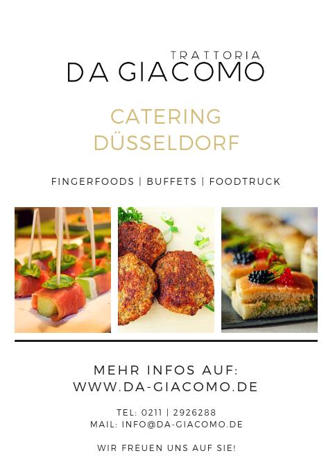 Catering in Düsseldorf & Umgebung