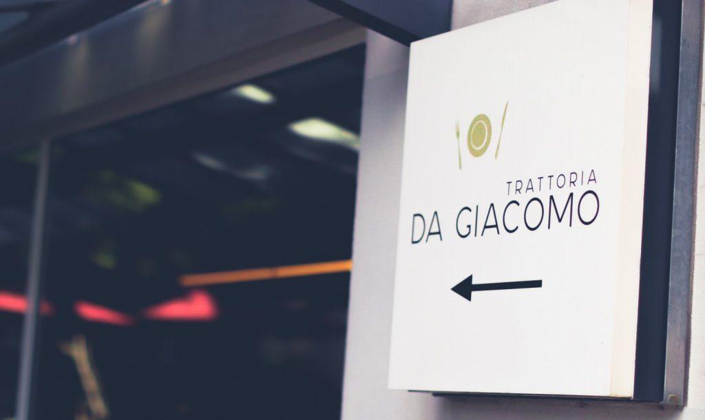 Willkommen in Da Giacomo