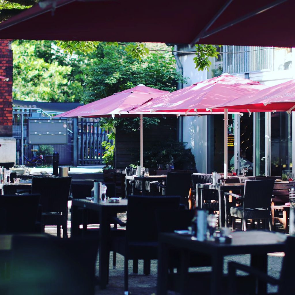 Impressionen Terrasse Düsseldorf